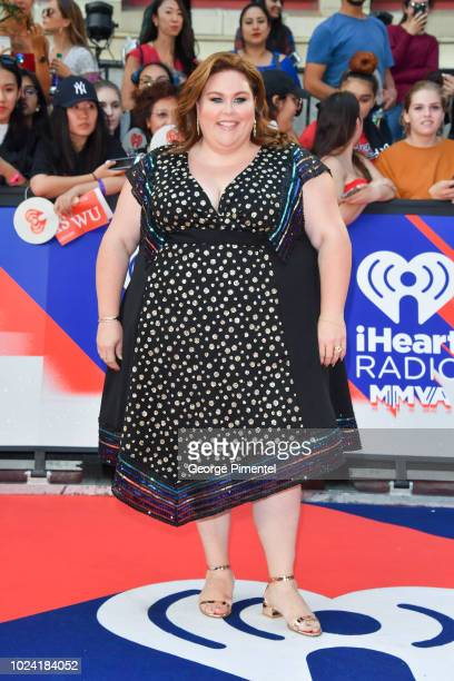 Chrissy Metz arrives at the 2018 iHeartRADIO MuchMusic Video Awards at MuchMusic HQ on August 26 2018 in Toronto Canada
