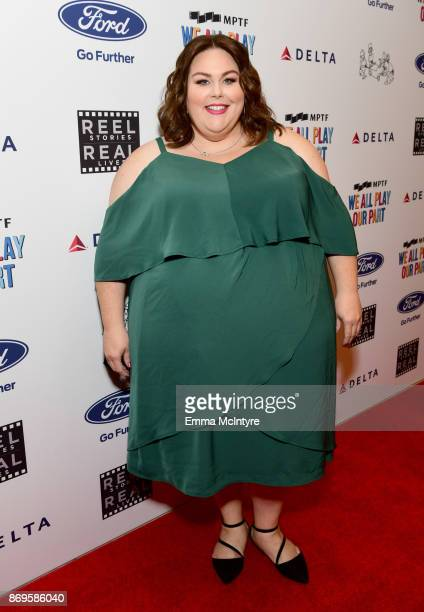 Chrissy Metz at the 6th Annual Reel Stories Real Lives event benefiting MPTF at Milk Studios on November 2 2017 in Hollywood California