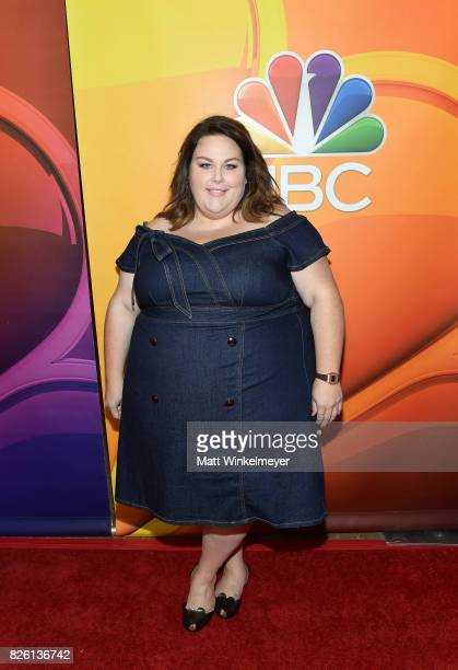 Chrissy Metz at the NBCUniversal Summer TCA Press Tour at The Beverly Hilton Hotel on August 3 2017 in Beverly Hills California