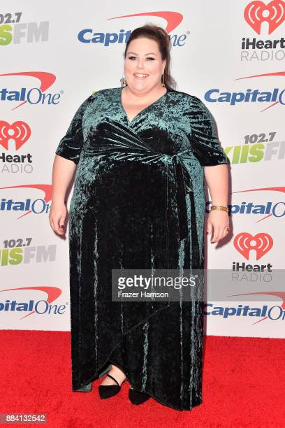 Chrissy Metz attends 1027 KIIS FM's Jingle Ball 2017 presented by Capital One at The Forum on December 1 2017 in Inglewood California