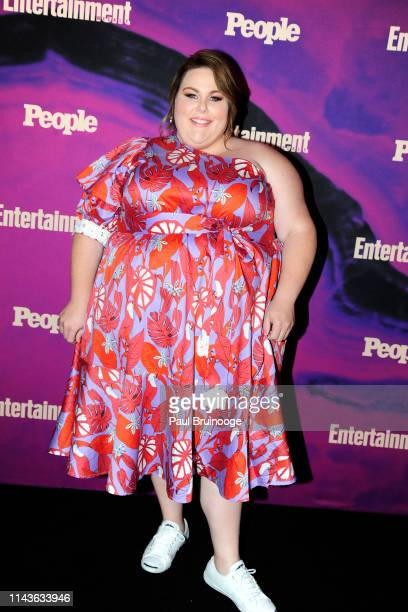 Chrissy Metz attends Entertainment Weekly And People Celebrate The New York Upfronts at Union Park NYC on May 13 2019 in New York City