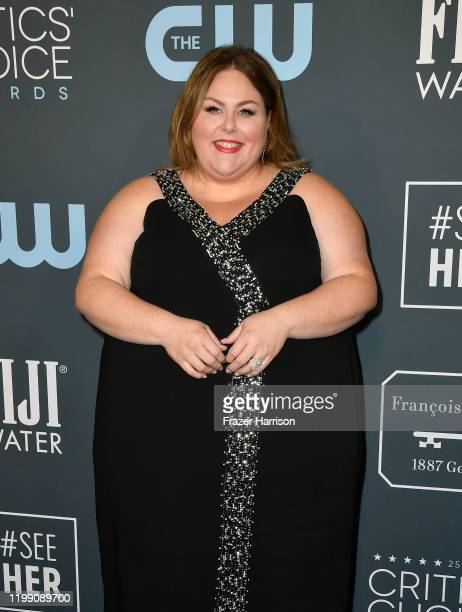 Chrissy Metz attends the 25th Annual Critics' Choice Awards at Barker Hangar on January 12 2020 in Santa Monica California