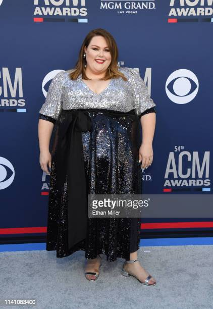 Chrissy Metz attends the 54th Academy Of Country Music Awards at MGM Grand Hotel Casino on April 07 2019 in Las Vegas Nevada