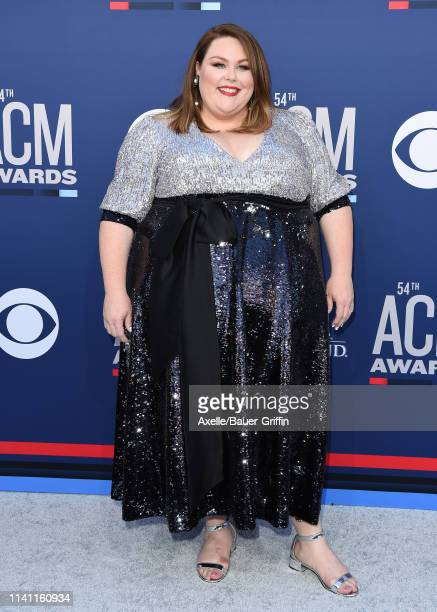 Chrissy Metz attends the 54th Academy of Country Music Awards at MGM Grand Garden Arena on April 07, 2019 in Las Vegas, Nevada.