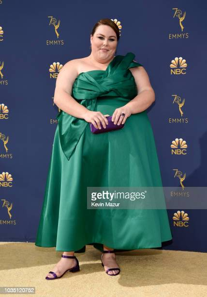 Chrissy Metz attends the 70th Emmy Awards at Microsoft Theater on September 17 2018 in Los Angeles California