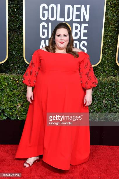 Chrissy Metz attends the 76th Annual Golden Globe Awards held at The Beverly Hilton Hotel on January 06 2019 in Beverly Hills California
