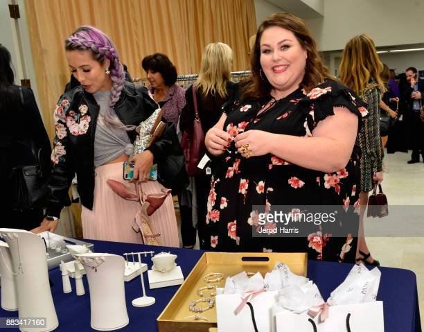 Chrissy Metz attends the Dress For Success WorldwideWest Seventh Annual Shop For Success Vip Event In Los Angeles on November 30 2017 in Los Angeles...