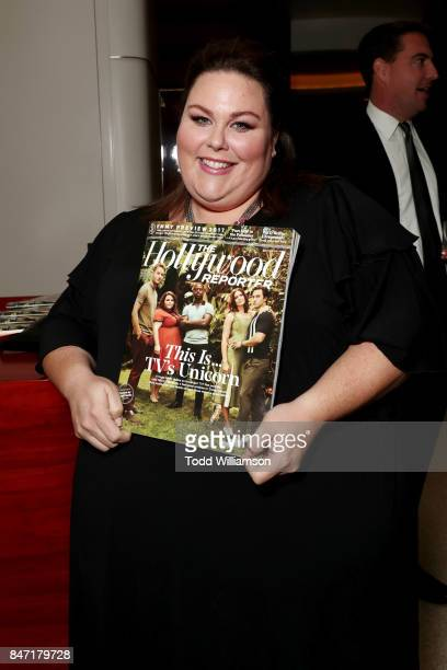 Chrissy Metz attends The Hollywood Reporter and SAG-AFTRA Inaugural Emmy Nominees Night presented by American Airlines, Breguet, and Dacor at the...