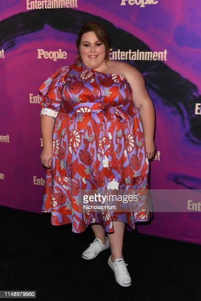 Chrissy Metz attends the People Entertainment Weekly 2019 Upfronts at Union Park on May 13 2019 in New York City