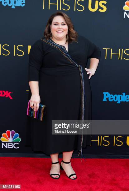 Chrissy Metz attends the premiere of NBC's 'This Is Us' season 2 at NeueHouse Hollywood on September 26 2017 in Los Angeles California