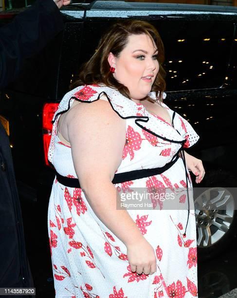 Chrissy Metz is seen walking in Midtown on May 13 2019 in New York City