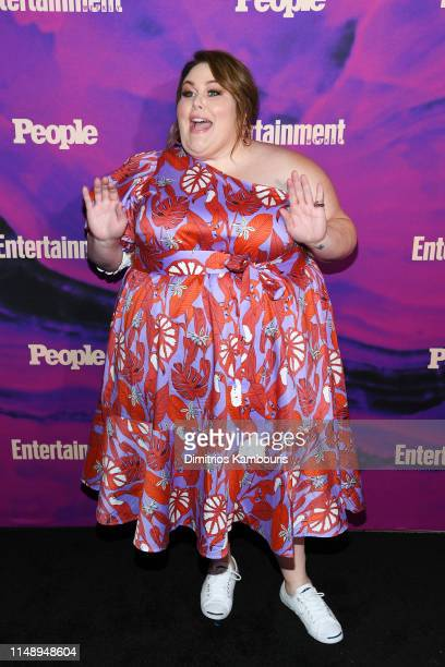 Chrissy Metz of This Is Us attends the Entertainment Weekly PEOPLE New York Upfronts Party on May 13 2019 in New York City