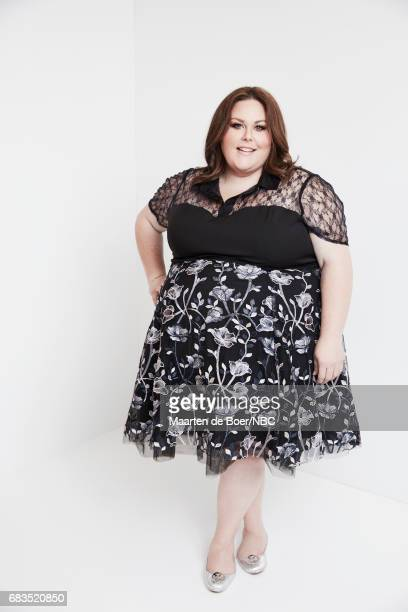 Chrissy Metz of 'This is Us' poses for a photo during NBCUniversal Upfront Events Season 2017 Portraits Session at Ritz Carlton Hotel on May 15 2017...