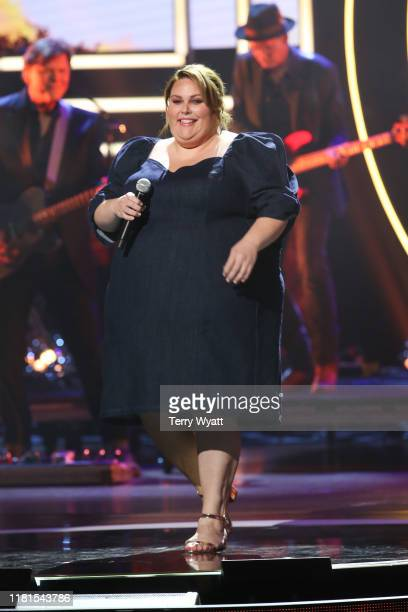 Chrissy Metz performs onstage during the 2019 CMT Artists of the Year at Schermerhorn Symphony Center on October 16 2019 in Nashville Tennessee