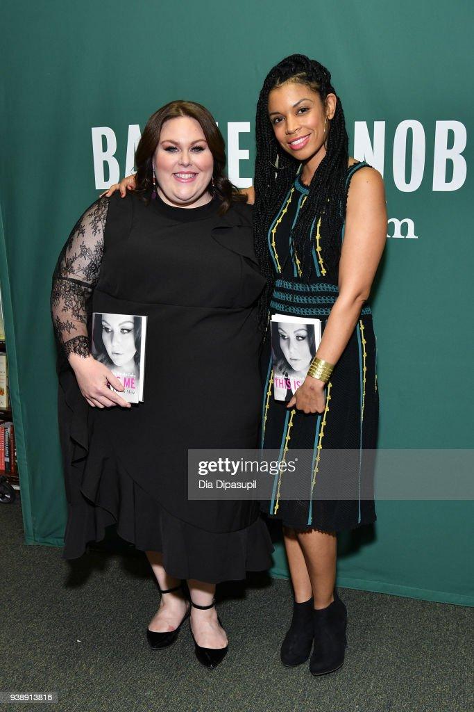 Chrissy Metz Signs Copies Of Her Memoir 'This Is Me' : News Photo