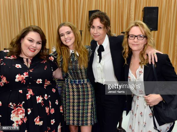 Chrissy Metz Zoey Deutch Minnie Driver and Lea Thompson attend the Dress For Success WorldwideWest Seventh Annual Shop For Success Vip Event In Los...