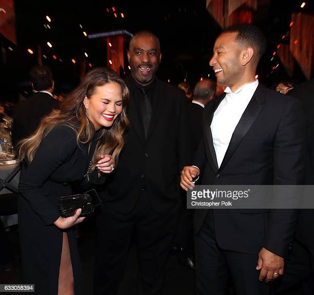 Chrissy Teigen and actor John Legend during The 23rd Annual Screen Actors Guild Awards at The Shrine Auditorium on January 29 2017 in Los Angeles...