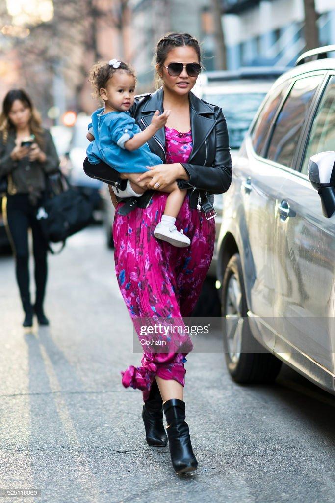 Celebrity Sightings in New York City - February 27, 2018
