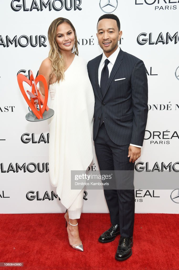 2018 Glamour Women Of The Year Awards: Women Rise - Backstage : News Photo