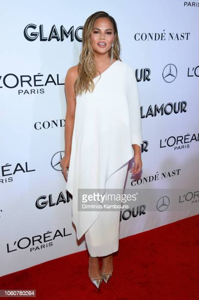 Chrissy Teigen attends the 2018 Glamour Women Of The Year Awards Women Rise on November 12 2018 in New York City