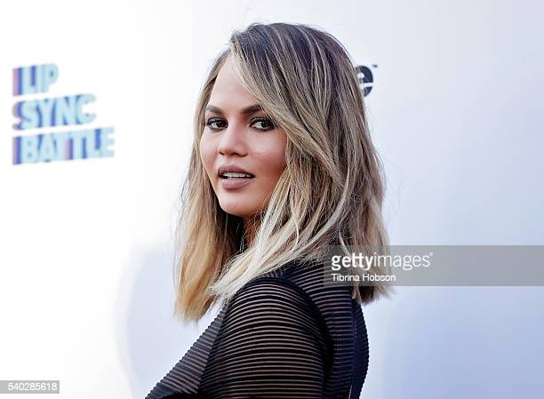 Chrissy Teigen attends the FYC event for Spike's 'Lip Sync Battle' on June 14, 2016 in North Hollywood, California.
