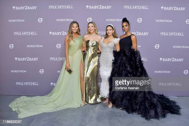 Chrissy Teigen Kate Hudson Jessica Alba and Kelly Rowland attend the 2019 Baby2Baby Gala presented by Paul Mitchell on November 09 2019 in Los...