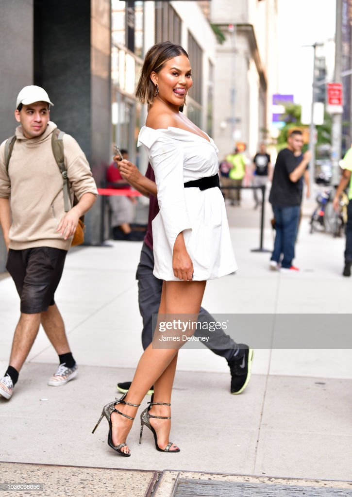 Celebrity Sightings in New York City - September 19, 2018