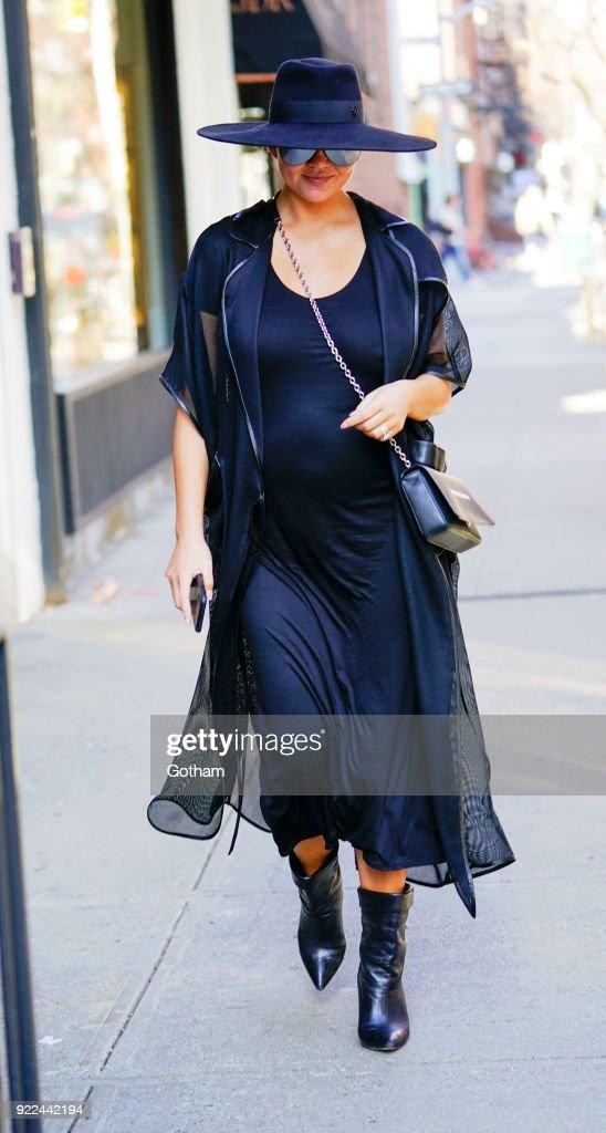 Celebrity Sightings in New York City - February 21, 201 : News Photo