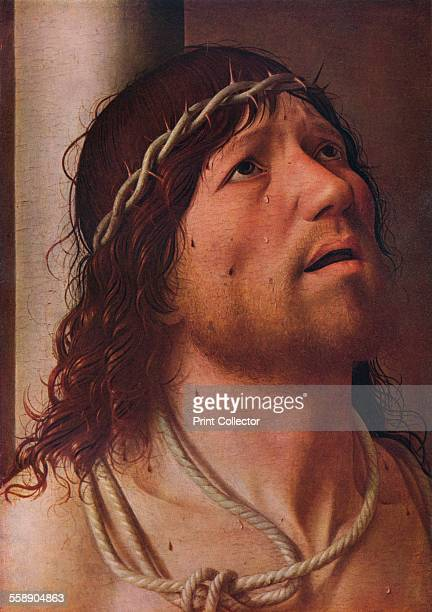 'Christ at the Column' c1476 Painting housed in the Musée du Louvre Paris From The Connoisseur Volume LXXXVII edited by C Reginald Grundy [The...