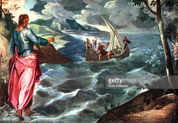 The storm on the sea of galilee stock photos and pictures getty christ at the sea of galilee c15751580 illustration from apollo a journal of the publicscrutiny Images