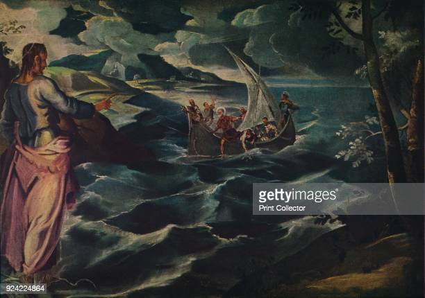 'Christ at the Sea of Galilee', c1575-1580. The painting is part of the Kress Collection, National Gallery of Art, Washington DC. From Masterpieces...