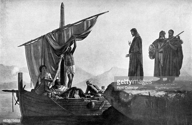 Christ calling the Apostles James and John 1926 From An Outline of Christianity The Story of Our Civilisation volume 1 The Birth of Christianity...