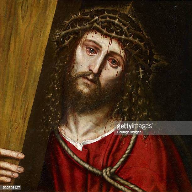 Christ Carrying the Cross. Found in the collection of Museo Carmen Thyssen, Málaga.