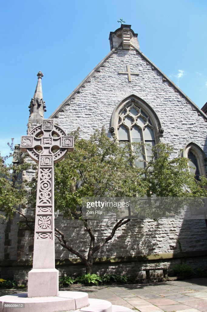 Christ Chapel at the Trinity Episcopal Church Complex in Buffalo, New York : Stock Photo