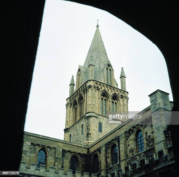 Christ Church Cathedral Chapel of Christ Church Oxford Oxfordshire January 1972