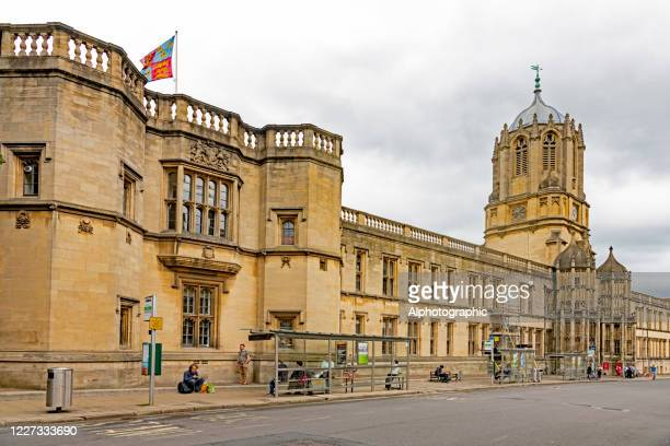 christ church college, oxford - oxfordshire stock pictures, royalty-free photos & images