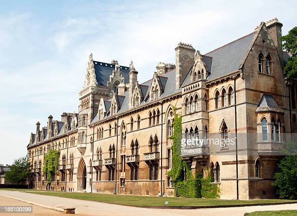 christ church college, oxford university - oxford university stock pictures, royalty-free photos & images