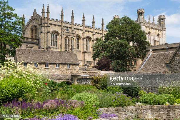 Christ Church gardens and cathedral, Oxford University