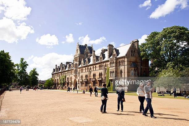 christ church in oxford - oxford university stock pictures, royalty-free photos & images