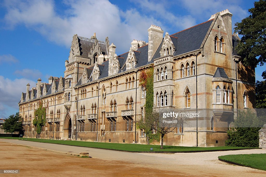 Christ Church in Oxford : Stock Photo
