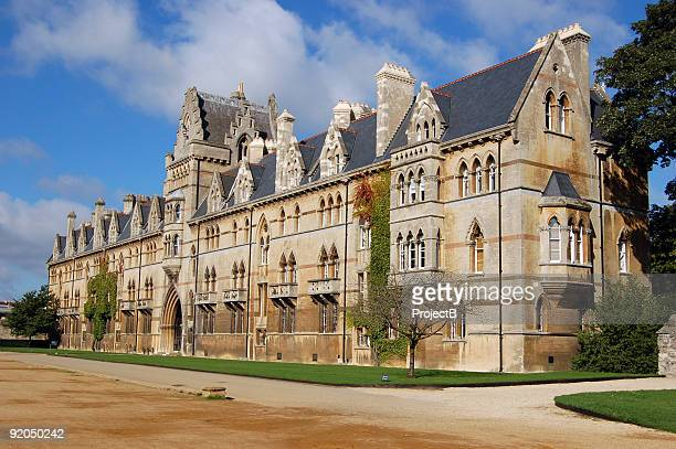 christ church in oxford - oxford england stock pictures, royalty-free photos & images