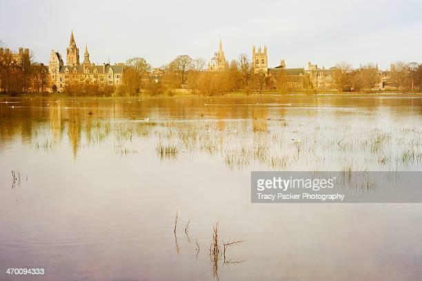 Christ Church (Port) Meadow Floods in Oxford.