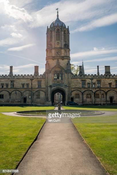 Christ Church, Peckwater Quadrangle, Oxford University, England