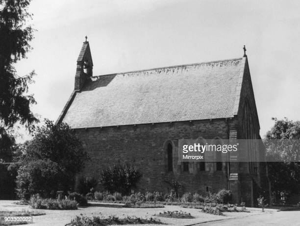 Christ College in Brecon a market town and community in Powys Mid Wales 20th June 1957 School Chapel