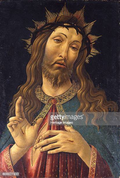 Christ Crowned with Thorns c 1500 Found in the collection of Accademia Carrara Bergamo Artist Botticelli Sandro