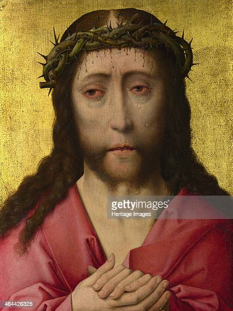 Christ Crowned with Thorns ca 14701475 Found in the collection of the National Gallery London