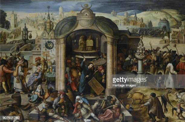 Christ Driving the Money Changers from the Temple Private Collection