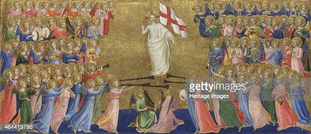 Christ Glorified in the Court of Heaven c 14231424 Found in the collection of the National Gallery London