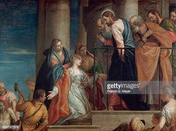 Christ Healing a Woman attributed to Veronese