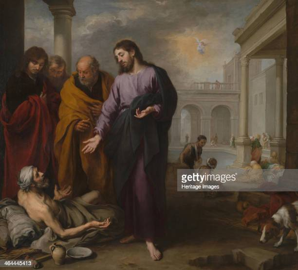 Christ healing the Paralytic at the Pool of Bethesda 16671670 Found in the collection of the National Gallery London